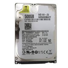 Hard Disk para Notebook WD5000BUCT 2,5 - Western Digital
