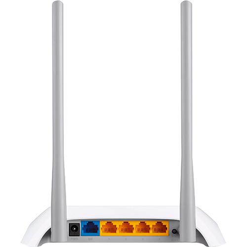 Roteador Wireless TL-WR840N 300Mbps 2.4Ghz Duas Antenas - TPLink