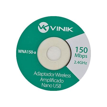 Adaptador Wireless Nano WNA150-A 150Mbps 23462 - Vinik