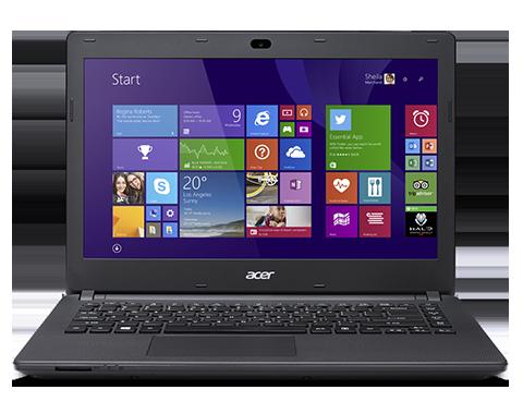Notebook ES1-431-P0V7 Intel Pentium Quad Core 4GB HD 500GB  LED 14 Windows 10 Preto - Acer