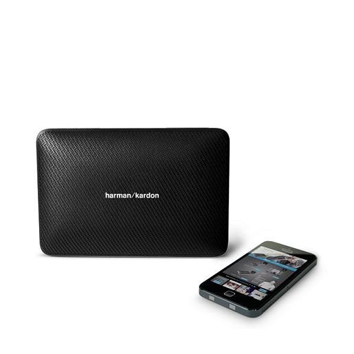 Caixa de Som Esquire 2 Bluetooth Premium Preta HKESQUIRE2BLK - Harman Kardon