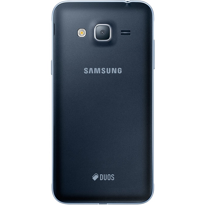 Smartphone Galaxy J3 SM-J320M/DS, Quad Core 1.5 Ghz, Android 5.1, Tela de 5, 8GB, 8 MP, 4G, Dual Chip, Preto - Samsung