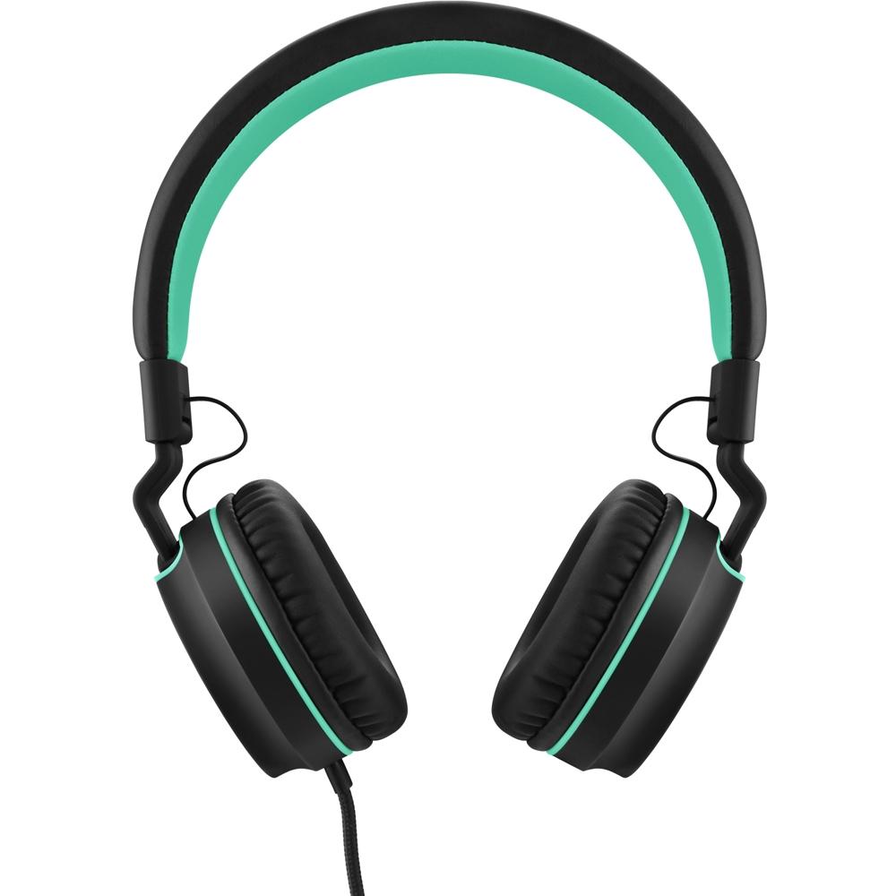 Headphone Pulse On Ear Stereo Preto/Verde PH159 - Multilaser