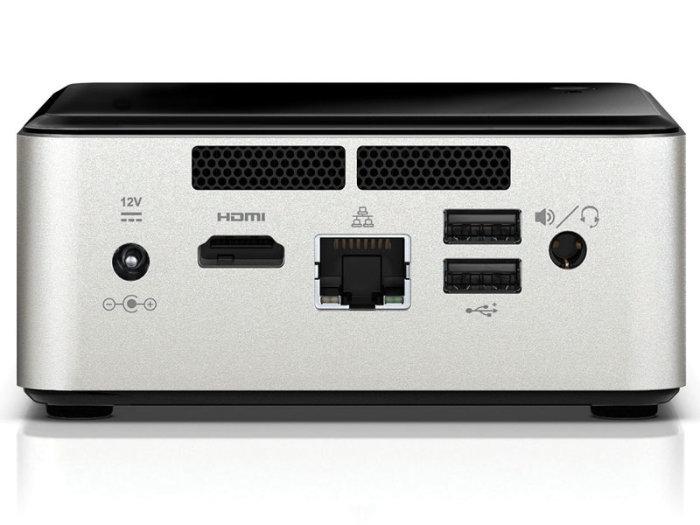 Desktop Nuc Intel Ultratop CN28304500 Dual Core N2830 4GB Hd 500GB HDMI USB Rede Linux - Centrium