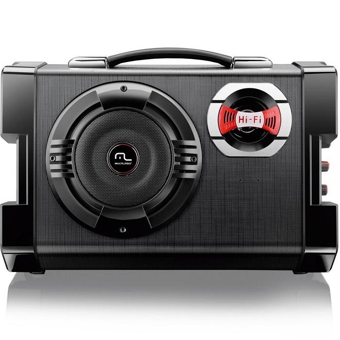 MP3 Active Sound System 6 Em 1 Portátil Preto SP191 - Multilaser