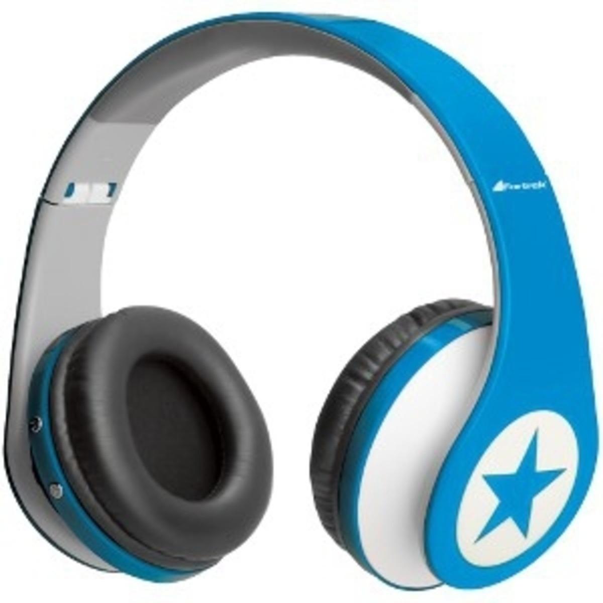 Fone de Ouvido Radical Beat MP3 HP902 Azul (Micro SD e Radio) - Fortrek