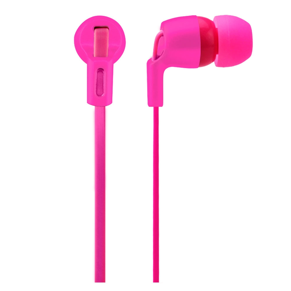 Fone De Ouvido Intra Auricular Neon Series Rosa PH139 - Multilaser
