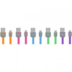 Cabo Lightining 8 Pinos Iphone 5 Sortido WI299 - Multilaser