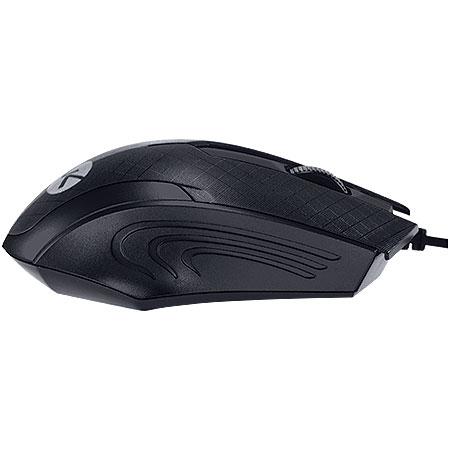 Mouse Optico USB MB70 1200DPI Preto 23723 - Vinik