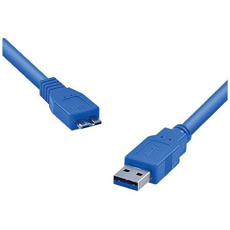 Cabo USB 3.0 A Macho X Micro USB B Macho 1.2 Metros U3AMBMC-2 23569 - Vinik