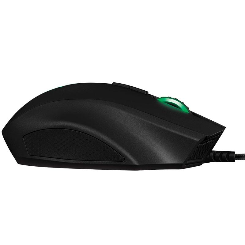 Mouse Gamer Naga 2014 Laser Com LED Verde 4G 8200dpi RZ01-01040100-R3U1 - Razer