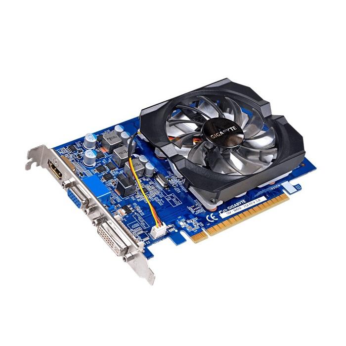Placa de Vídeo Geforce GT420 2GB DDR3 128Bits GV-N420-2GI REV 3.0 - Gigabyte