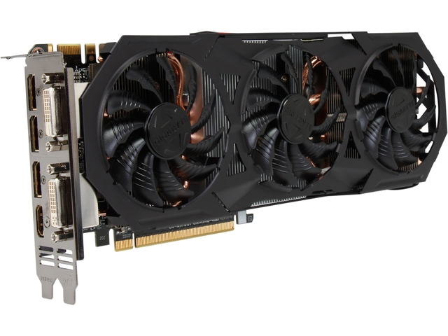 Placa de Vídeo Geforce GTX970 G1 Gaming 4GB GDDR5 256Bit GV-N970G1 GAMING-4GD - Gigabyte