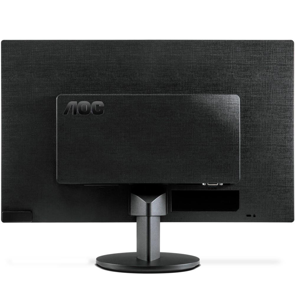 Monitor LED 18,5 HD Widescreen Ultra High VGA E970SWNL Preto - AOC