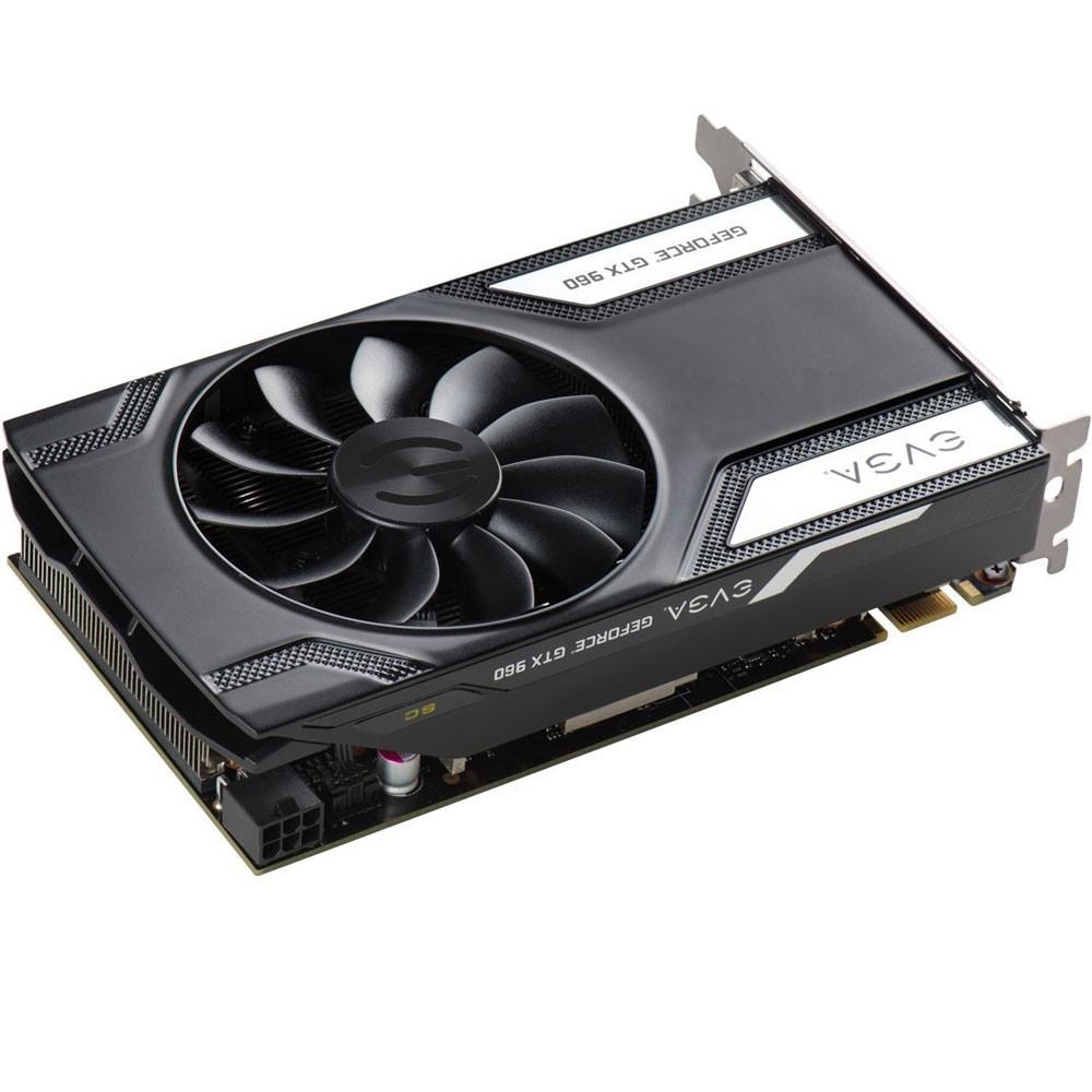 Placa de Vídeo Geforce GTX960 4GB SC Gaming DDR5 128Bits 04G-P4-3962-KR - EVGA