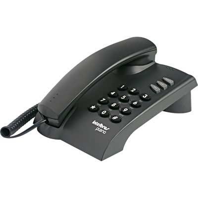 Telefone de Mesa Pleno c/Chave Preto - Intelbras