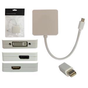 Adaptador Mini Display Port P/DP/DVI/HDMI CB0113 - OEM