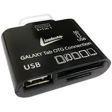 Leitor Universal de Memoria Para Galaxy TAB USB (3997) - Leadership -