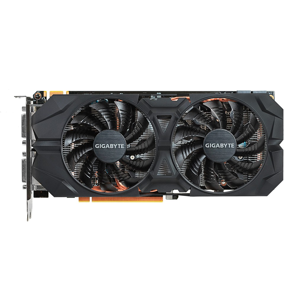 Placa de Vídeo Geforce GTX960 Windforce 4GB GDDR5 128Bits GV-N960WF2-4GD - Gigabyte