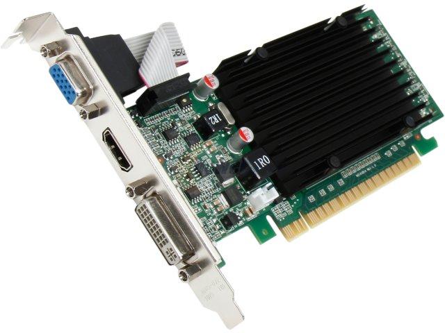 Placa de Vídeo Geforce GT210 1GB DDR3 01G-P3-1313-KR - EVGA