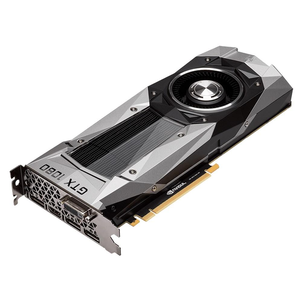 Pré-Venda Placa de Vídeo Geforce GTX 1080 Founders Edition 8GB GDDR5X 256Bits PCI-E 3.0 GV-N1080D5X-8GD-B - Gigabyte