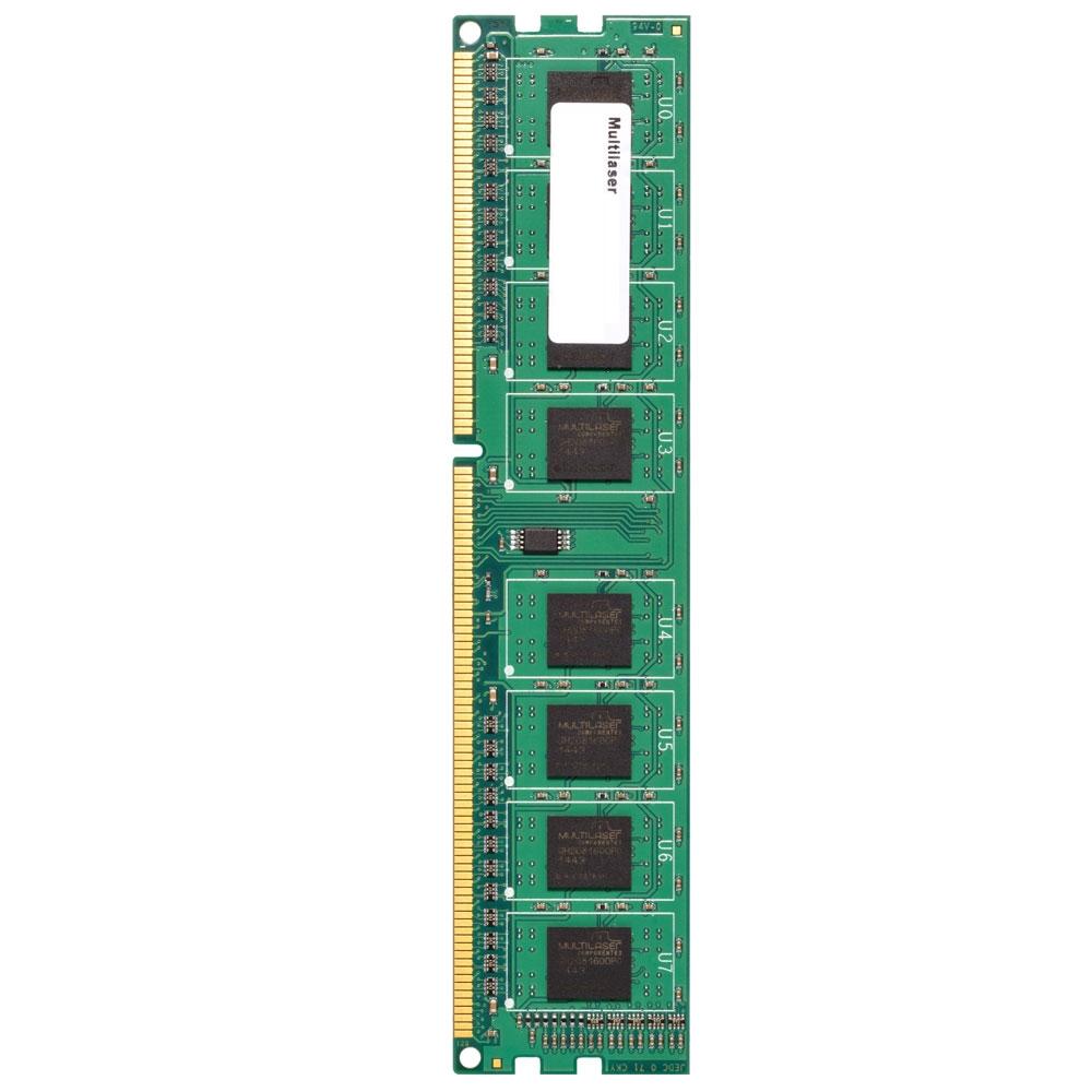 Memória 8GB 1600Mhz DDR3 CL11 MM810 - Multilaser
