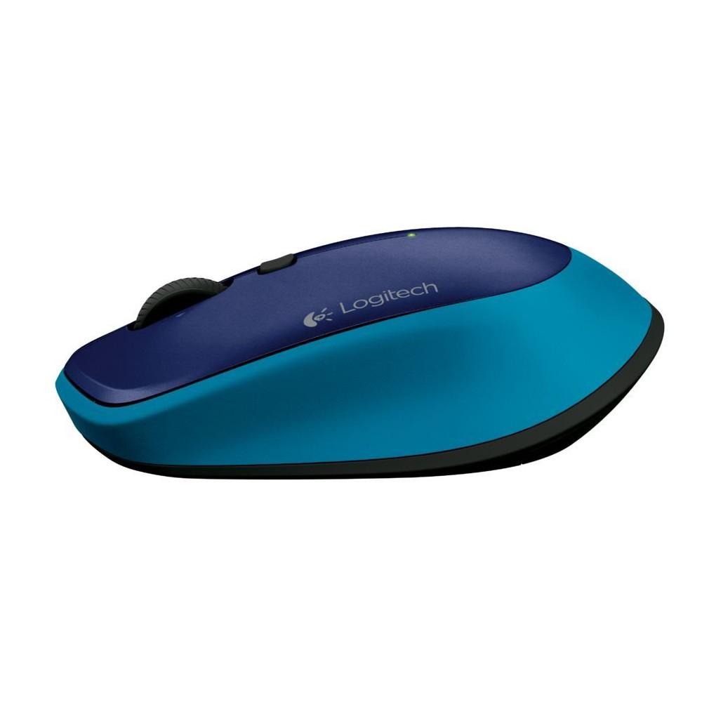 Mouse sem fio M335 com Unifying Azul - Logitech