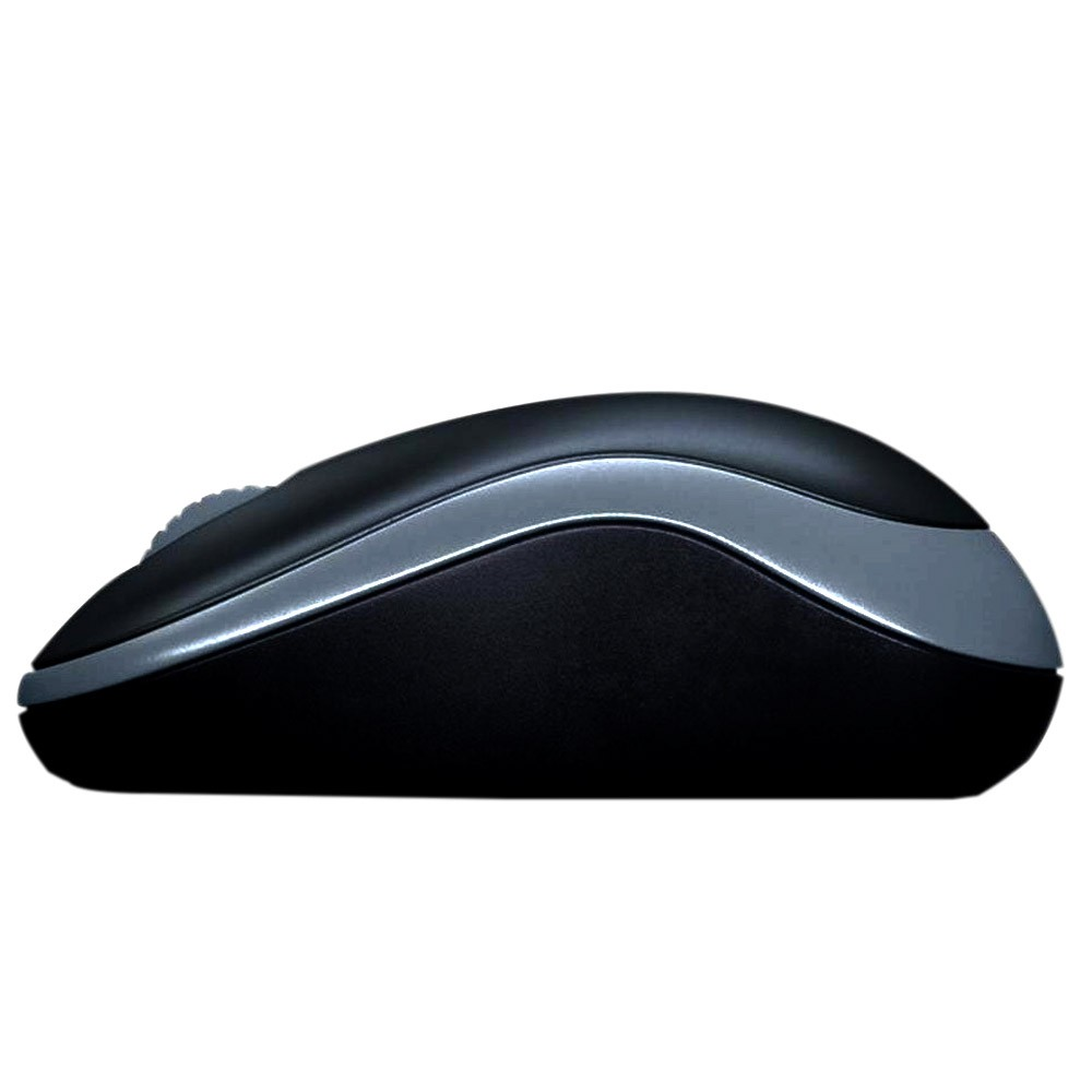 Mouse Wireless Óptico M185 Cinza - Logitech