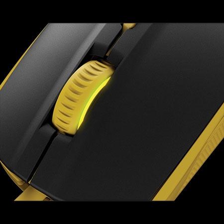 Mouse Gamer Óptico Rival 100 Pronton Amarelo 62340 - SteelSeries