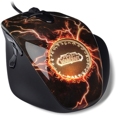 Mouse Gamer Óptico World OF Warcraft Legendary 62050 - SteelSeries