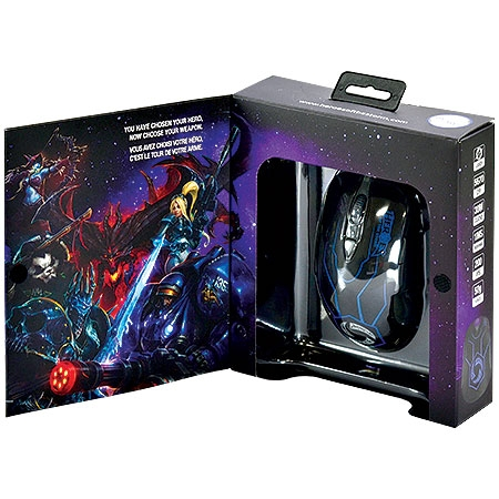 Mouse Gamer Óptico Laser Heroes Of The Storm 62169 - SteelSeries