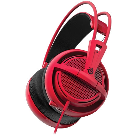 Fone de Ouvido com Microfone Siberia 200 Forged Red 51135 - Steelseries