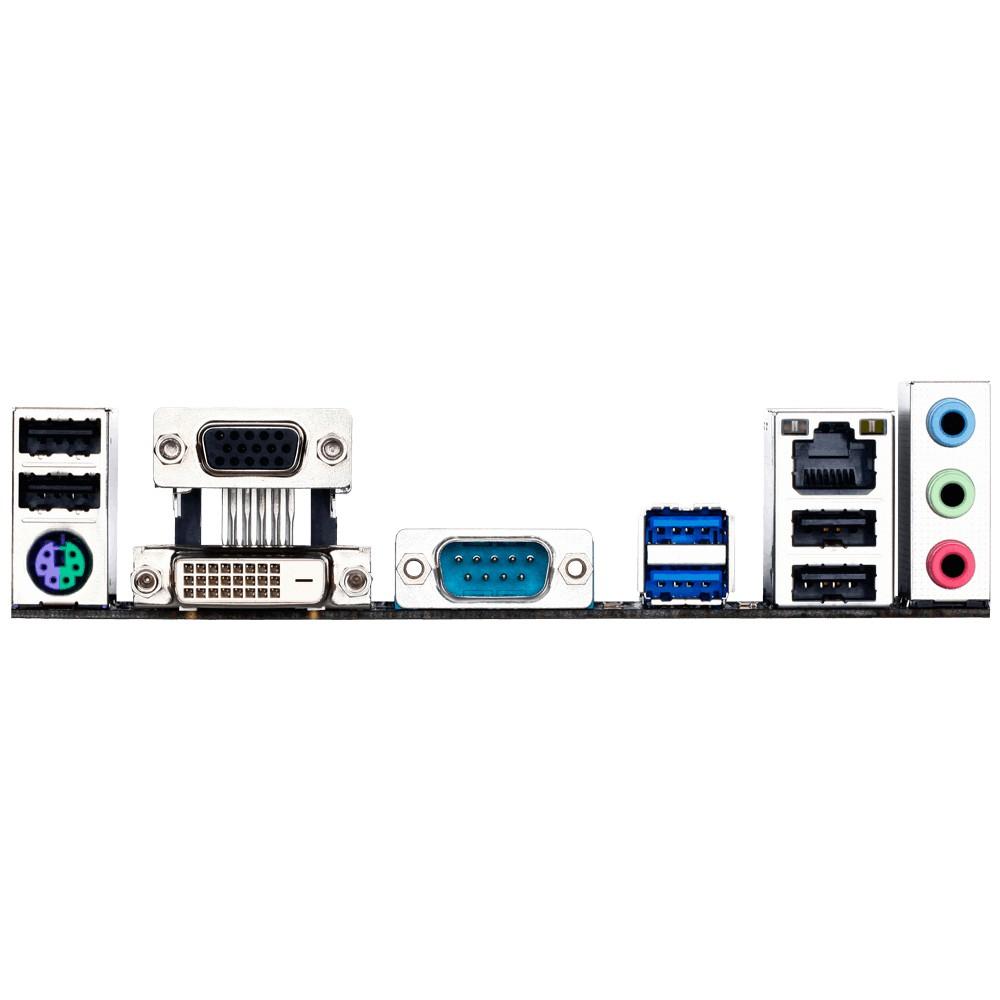 Placa Mãe LGA 1151 GA-H110M-S2PV DDR3 DVI,VGA (S/V/R) USB 3.0 - Gigabyte