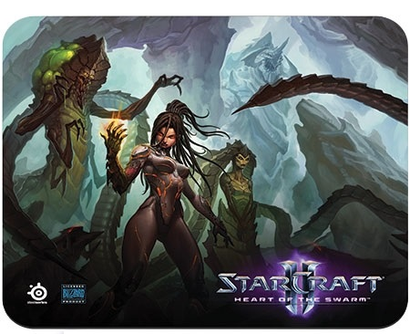 Mouse Pad QCK Starcraft II 67266 - Steelseries