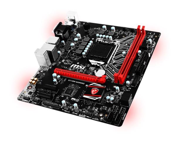 Placa Mãe LGA 1151 H110M Gaming DDR4 USB 3.1 (S/V/R) - MSI