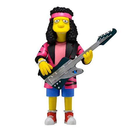 The Simpsons 25TH annivesary Series 4 Action Figure Otto Mann