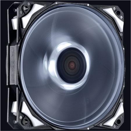 Cooler para Gabinete Fury F4 120mm LED Branco F4120LDBC - Pcyes