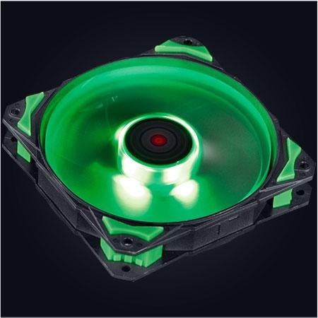 Cooler para Gabinete Fury F4 120mm LED Verde F4120LDVD - Pcyes