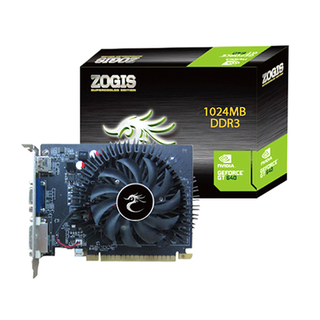 Placa de Video GeForce GT640 1GB DDR3 128Bits ZOGT640-1GD3H - Zogis