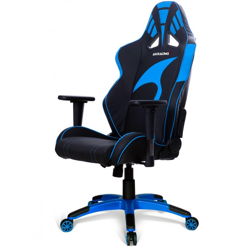 Cadeira AKRacing K601G (ML-1170-BL) Preta/Azul - AKRacing