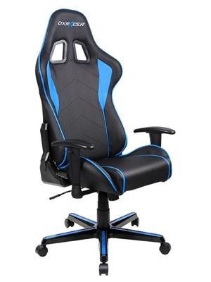 Cadeira F-Series FL08/NB Black/Blue - DXRacer
