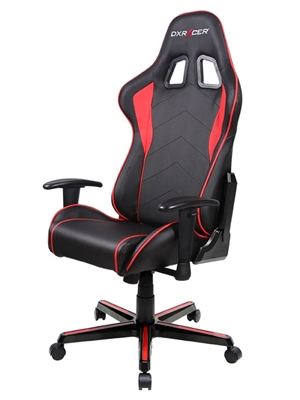 Cadeira F-Series FL08/NR Black/Red - DXRacer