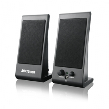 Caixa de Som Flat 3W USB SP009 - Multilaser