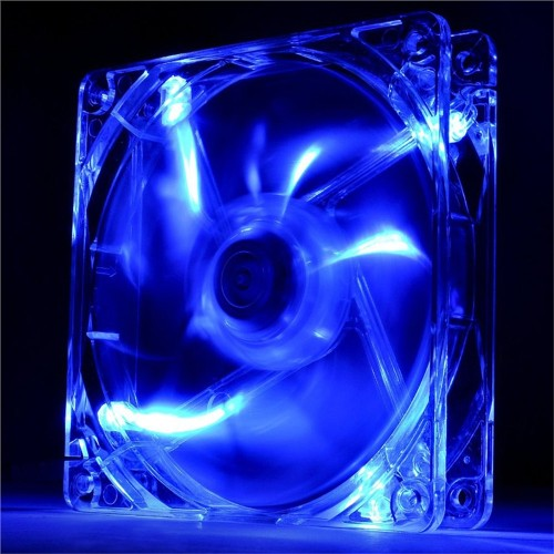 Fan para Gabinete 120mm Led Azul Pure CL-F012-PL12BU-A  - Thermaltake
