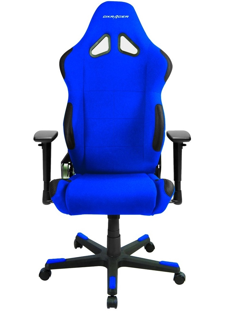 Cadeira RC-Series OH/RW01/BN Black/Blue - DXRacer