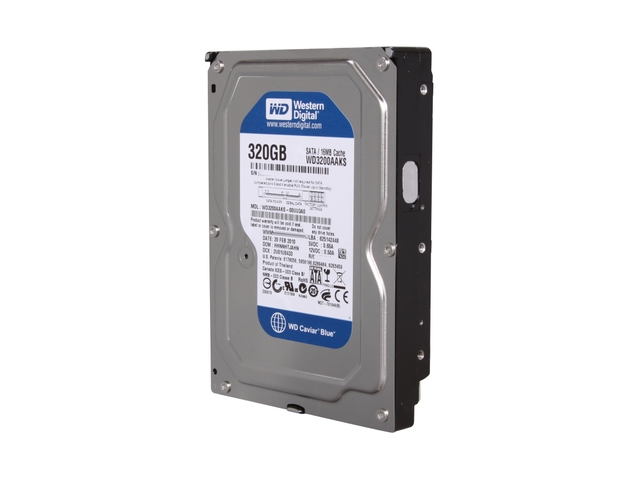 Hard Disk 320GB Sata II 3.5 WD3200AAKS 7200RPM - Western Digital