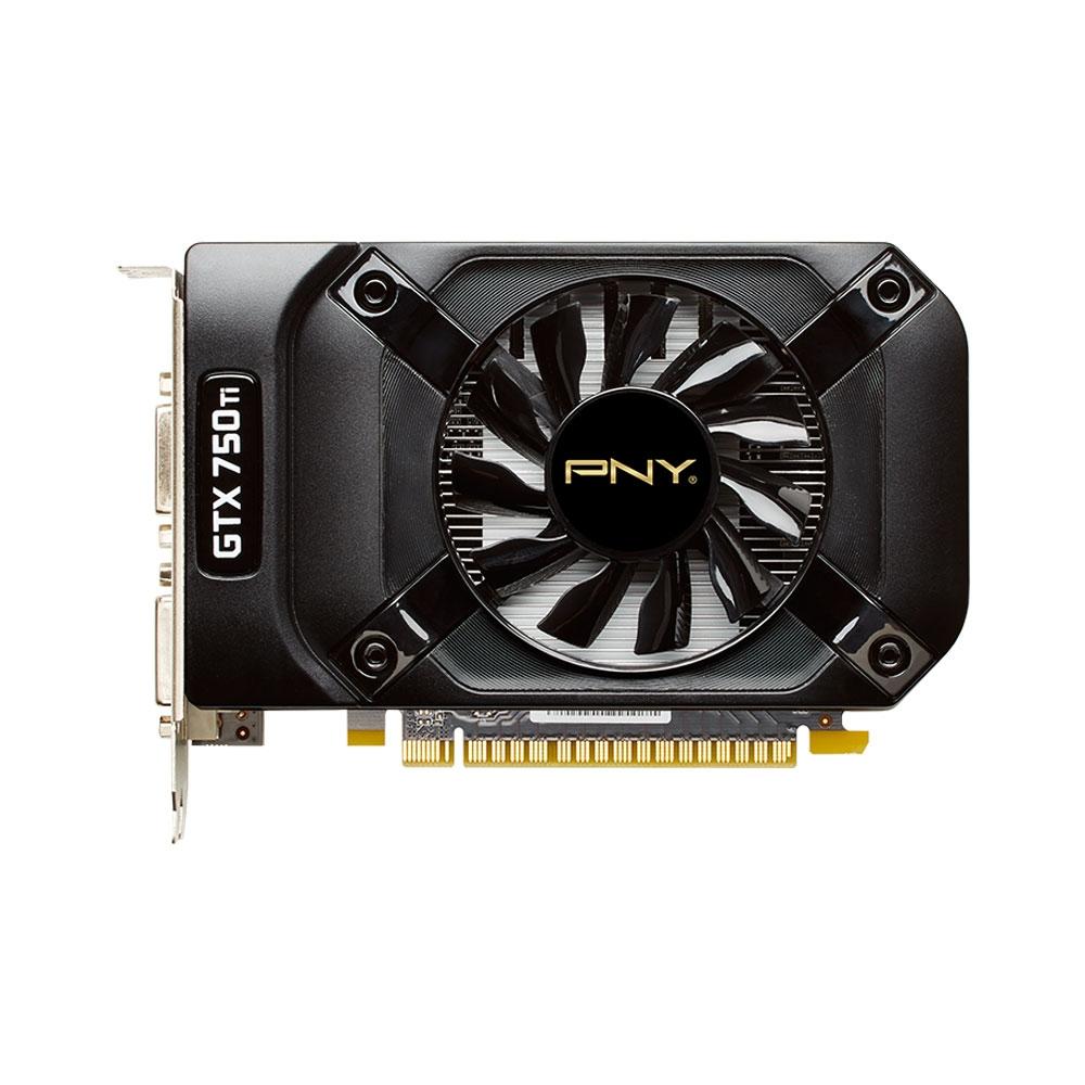 Placa de Vídeo Geforce GTX750 Ti OC 2GB DDR5 128Bits VCGGTX750T2XPB - PNY