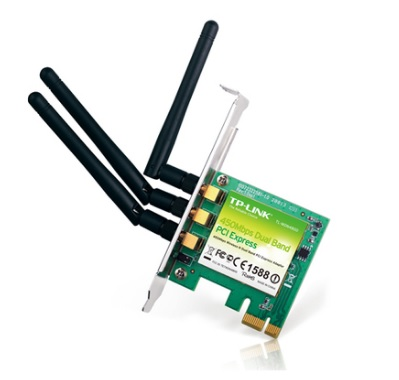 Placa de Rede Wireless 450Mbps Banda Dupla TL-WDN4800 - Tplink
