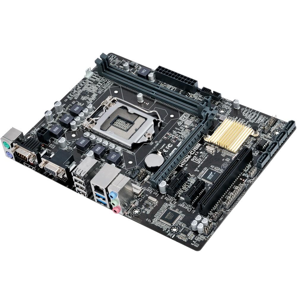 Placa Mãe LGA 1151 H110M-C/BR DDR4, HDMI, USB 3.0 (Som/Vídeo/Rede) - Asus