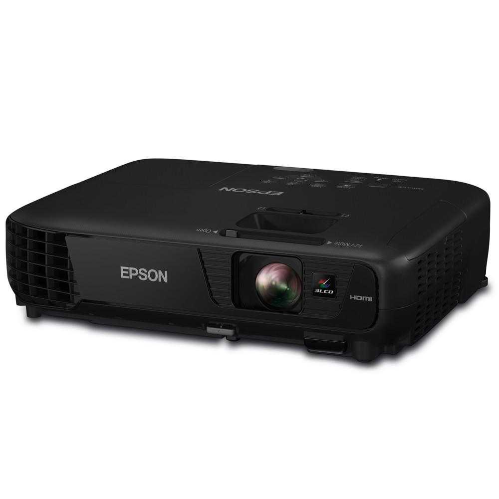 Projetor Powerlite S31+ 3200 Lumens, 3LCD, HDMI, USB, Bivolt Preto - Epson